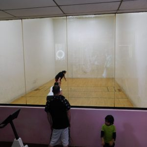 Racquetball at open house!