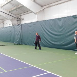 Pickleball at this year's open house!