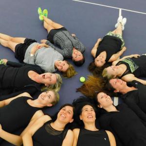 Women's A/L-4 Green team post championship win!